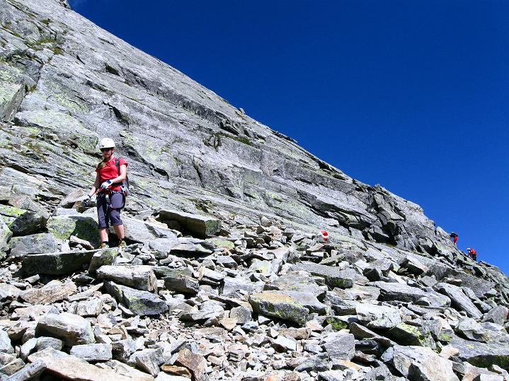Foto: Andreas Koller / Klettersteig Tour / Bella Vista Klettersteig auf die Hohe Leier (2774 m) / 06.09.2009 23:12:14