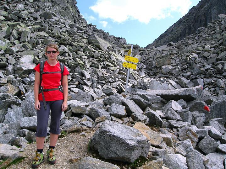 Foto: Andreas Koller / Klettersteig Tour / Bella Vista Klettersteig auf die Hohe Leier (2774 m) / 06.09.2009 23:11:35