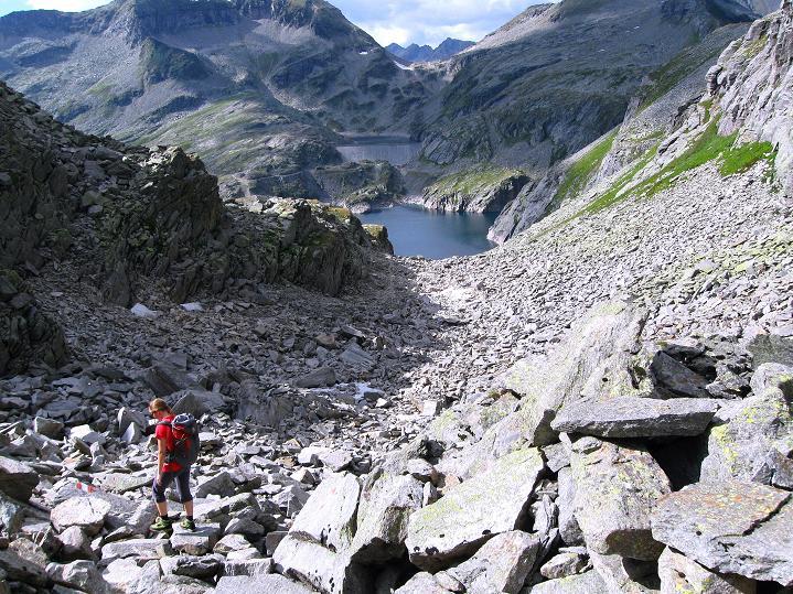 Foto: Andreas Koller / Klettersteig Tour / Bella Vista Klettersteig auf die Hohe Leier (2774 m) / 06.09.2009 23:11:24