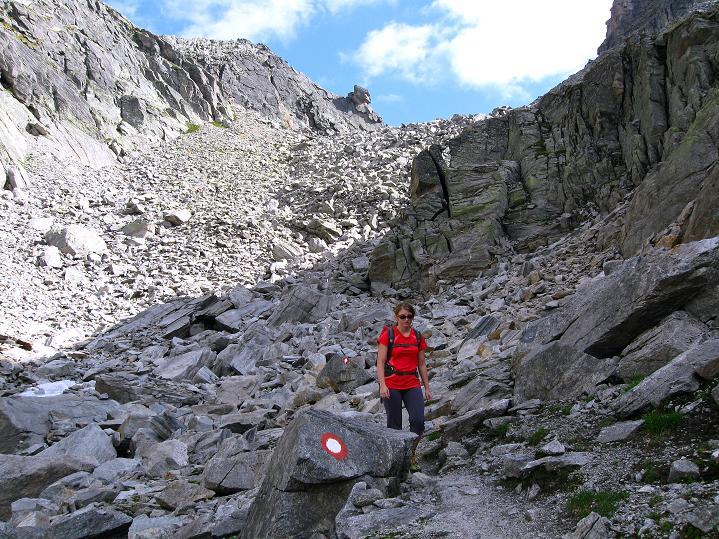 Foto: Andreas Koller / Klettersteig Tour / Bella Vista Klettersteig auf die Hohe Leier (2774 m) / 06.09.2009 23:11:04