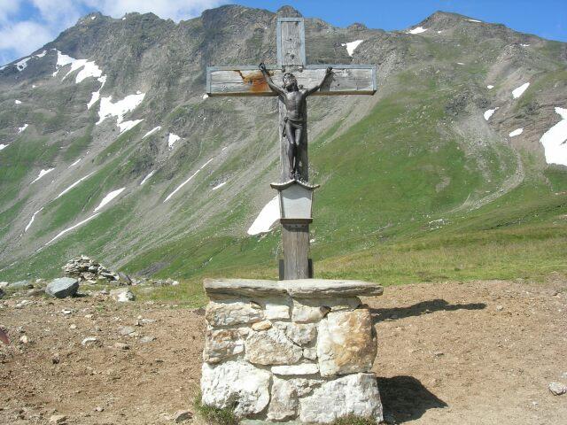 Foto: besu / Wander Tour / Tauernüberquerung Mallnitz-Sportgastein / Tauernkreuz / 05.09.2009 14:39:10