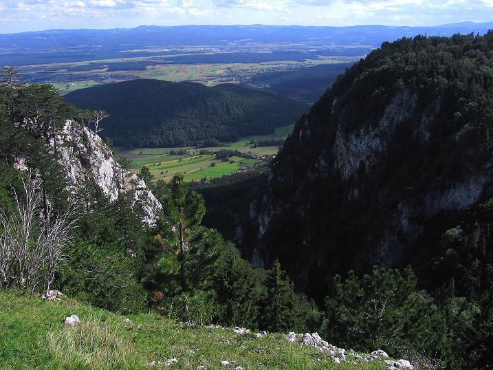 Foto: Andreas Koller / Klettersteig Tour / Klettersteig Steirerspur (1132m) / 08.09.2009 01:00:33