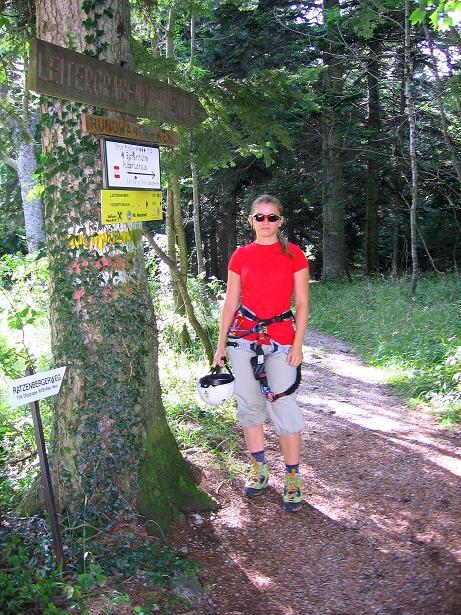 Foto: Andreas Koller / Klettersteig Tour / Klettersteig Steirerspur (1132m) / 08.09.2009 01:00:28