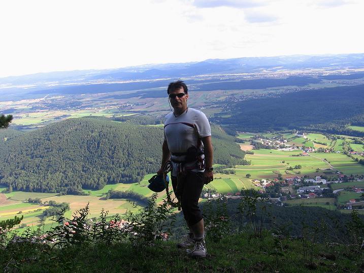Foto: Andreas Koller / Klettersteig Tour / Klettersteig Steirerspur (1132m) / 08.09.2009 00:59:55