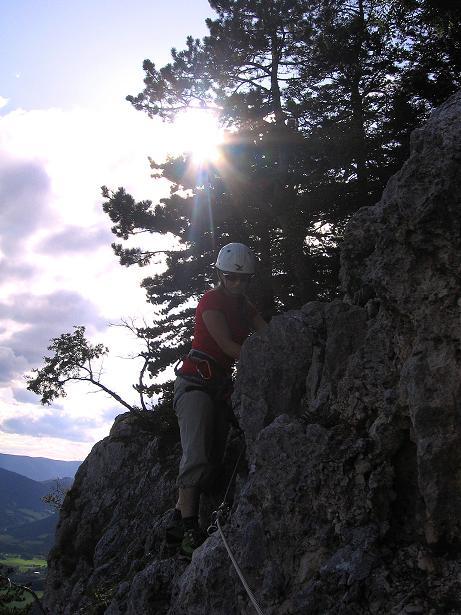 Foto: Andreas Koller / Klettersteig Tour / Klettersteig Steirerspur (1132m) / 08.09.2009 00:59:20