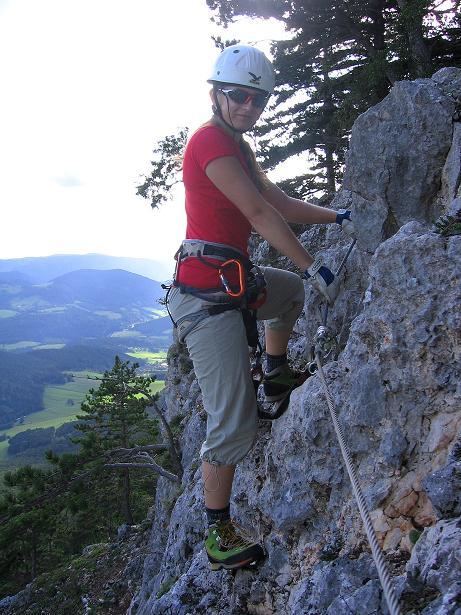 Foto: Andreas Koller / Klettersteig Tour / Klettersteig Steirerspur (1132m) / 08.09.2009 00:59:13