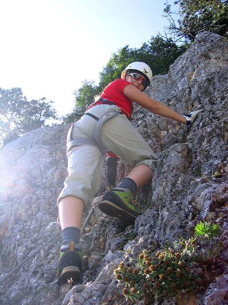 Foto: Andreas Koller / Klettersteig Tour / Klettersteig Steirerspur (1132m) / 08.09.2009 00:59:07