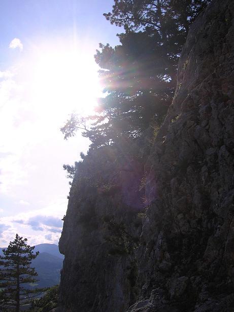 Foto: Andreas Koller / Klettersteig Tour / Klettersteig Steirerspur (1132m) / 08.09.2009 00:58:59