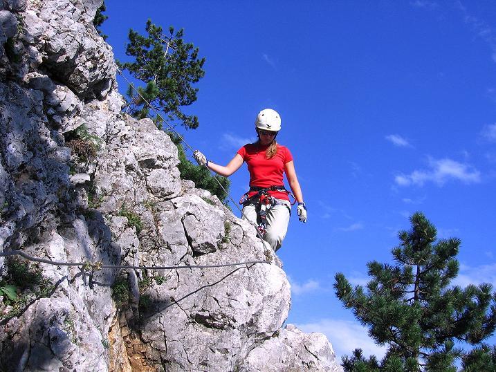 Foto: Andreas Koller / Klettersteig Tour / Klettersteig Steirerspur (1132m) / 08.09.2009 00:58:49