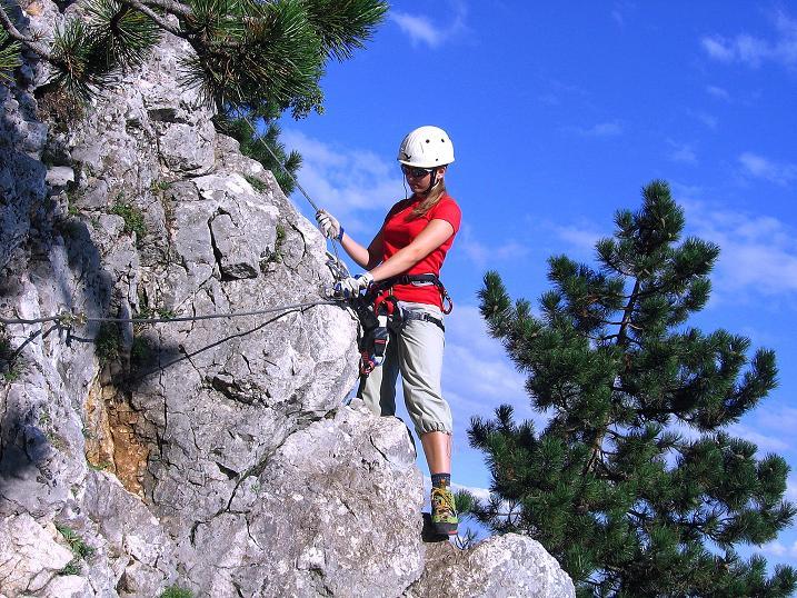 Foto: Andreas Koller / Klettersteig Tour / Klettersteig Steirerspur (1132m) / 08.09.2009 00:58:42