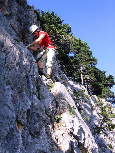 Foto: Andreas Koller / Klettersteig Tour / Klettersteig Steirerspur (1132m) / 08.09.2009 00:58:27