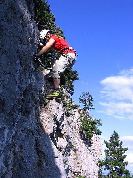 Foto: Andreas Koller / Klettersteig Tour / Klettersteig Steirerspur (1132m) / 08.09.2009 00:58:19