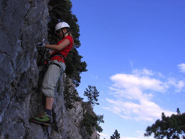 Foto: Andreas Koller / Klettersteig Tour / Klettersteig Steirerspur (1132m) / 08.09.2009 00:58:12