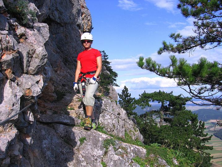 Foto: Andreas Koller / Klettersteig Tour / Klettersteig Steirerspur (1132m) / 08.09.2009 00:57:42