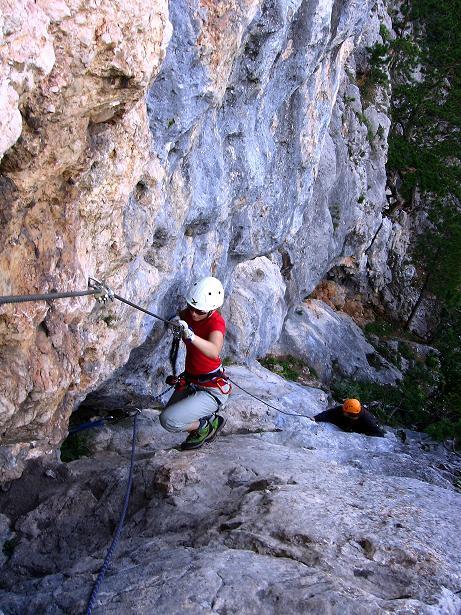 Foto: Andreas Koller / Klettersteig Tour / Klettersteig Steirerspur (1132m) / 08.09.2009 00:57:08