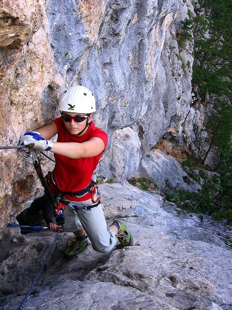 Foto: Andreas Koller / Klettersteig Tour / Klettersteig Steirerspur (1132m) / 08.09.2009 00:56:58