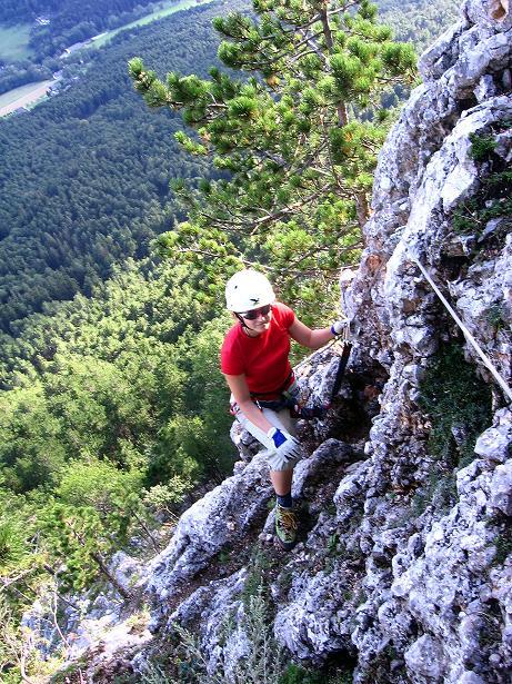 Foto: Andreas Koller / Klettersteig Tour / Klettersteig Steirerspur (1132m) / 08.09.2009 00:56:35