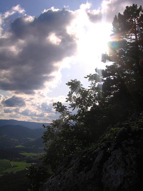 Foto: Andreas Koller / Klettersteig Tour / Klettersteig Steirerspur (1132m) / 08.09.2009 00:56:18