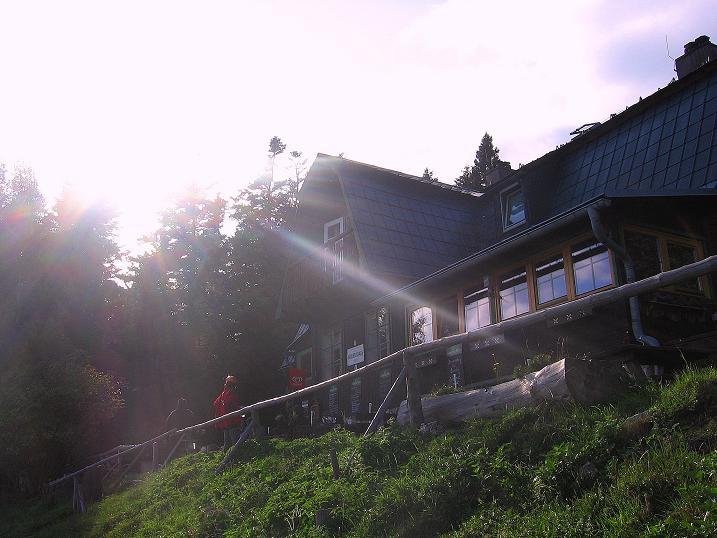 Foto: Andreas Koller / Klettersteig Tour / Klettersteig Steirerspur (1132m) / Hubertushaus / 08.09.2009 00:54:52