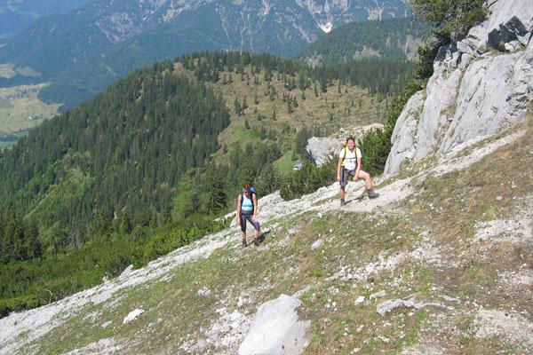 Foto: Christian Schickmayr / Klettersteig Tour / Schustergangl-Klettersteig, Rundtour / Zustieg / 07.09.2009 20:53:31