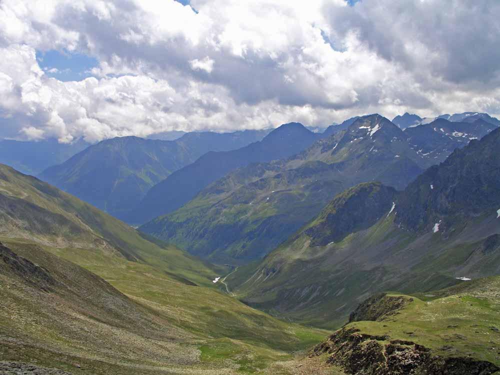 Foto: vince 51 / Wander Tour / Kreuzjochkogel-Überschreitung / Blick vom Kreuzjoch nach Süden / 07.09.2009 22:59:46