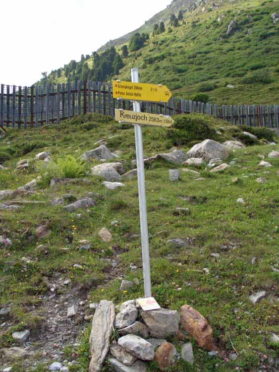 Foto: vince 51 / Wander Tour / Kreuzjochkogel-Überschreitung / 07.09.2009 23:08:31