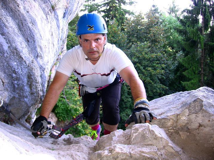Foto: Andreas Koller / Klettersteig Tour / Währinger Steig (630 m) / 10.09.2009 22:56:54