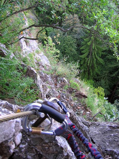 Foto: Andreas Koller / Klettersteig Tour / Währinger Steig (630 m) / 10.09.2009 22:55:53