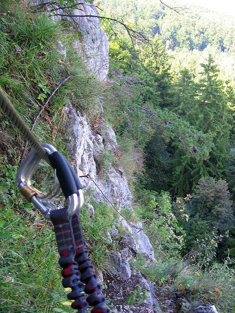 Foto: Andreas Koller / Klettersteig Tour / Währinger Steig (630 m) / 10.09.2009 22:55:38