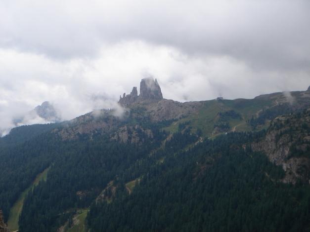 Foto: Manfred Karl / Kletter Tour / Großer Falzaregoturm, Westwand / Cinque Torri / 10.09.2009 21:07:42
