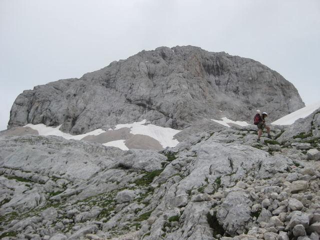 Foto: Wolfgang Lauschensky / Klettersteig Tour / Triglav Überschreitung Bambergweg - Ostgrat / Gipfelstock / 11.09.2009 20:44:33
