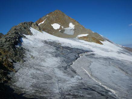 Foto: Thomas Paschinger / Wander Tour / Hintere Schwärze, Marzellspitzen, Similaun und Finailspitze / Finailspitze (3514m) / 13.09.2009 15:22:18