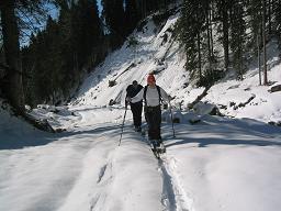 Foto: Snowfire / Ski Tour / Schönwipfel (1913m) / Richtung Schönwipfel kurz nach der Osteria Camoscio / 16.09.2009 12:22:02
