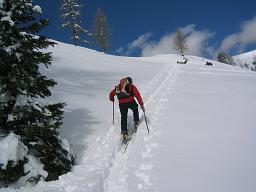 Foto: Snowfire / Ski Tour / Schönwipfel (1913m) / Kurz vor dem Gipfel / 16.09.2009 12:33:49