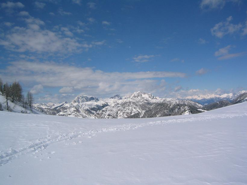 Foto: Snowfire / Ski Tour / Schönwipfel (1913m) / Am Sattel kurz vor dem Gipfel / 16.09.2009 12:35:57