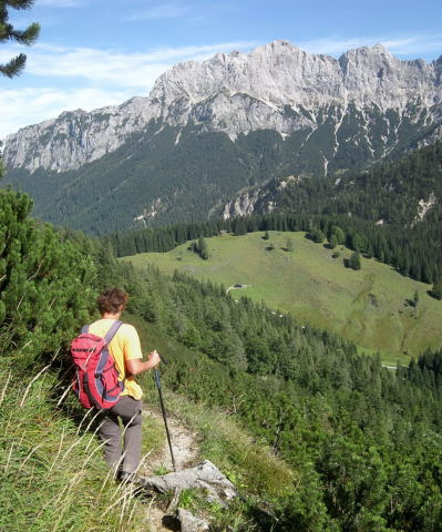 Foto: Wolfgang Lauschensky / Wander Tour / Großes Hundshorn 1705m / Hundsalm / 15.09.2009 20:39:38