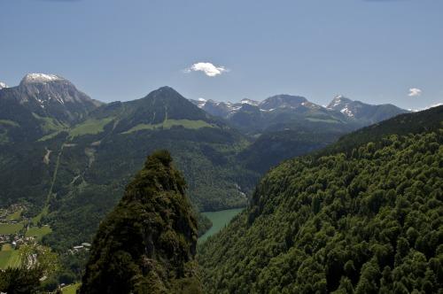 Foto: hofchri / Klettersteig Tour / Grünstein Klettersteig / Panorama am Königssee / 15.06.2010 20:39:02