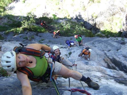 Foto: hofchri / Klettersteig Tour / Grünstein Klettersteig / etwas exponiert / 15.06.2010 20:31:54