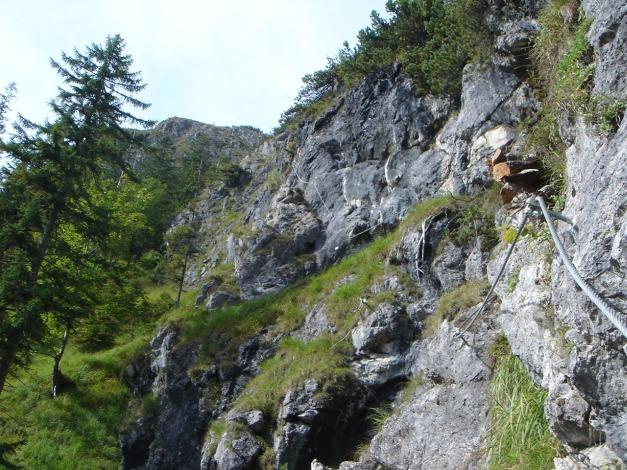 Foto: Manfred Karl / Klettersteig Tour / Grünstein Klettersteig / 17.09.2009 20:09:40