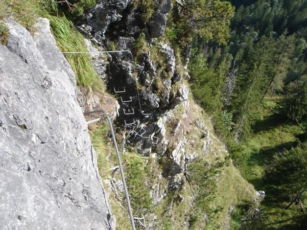 Foto: Manfred Karl / Klettersteig Tour / Grünstein Klettersteig / 17.09.2009 20:06:56