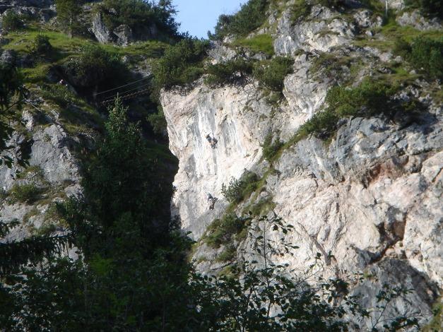 Foto: Manfred Karl / Klettersteig Tour / Grünstein Klettersteig / 17.09.2009 20:02:40