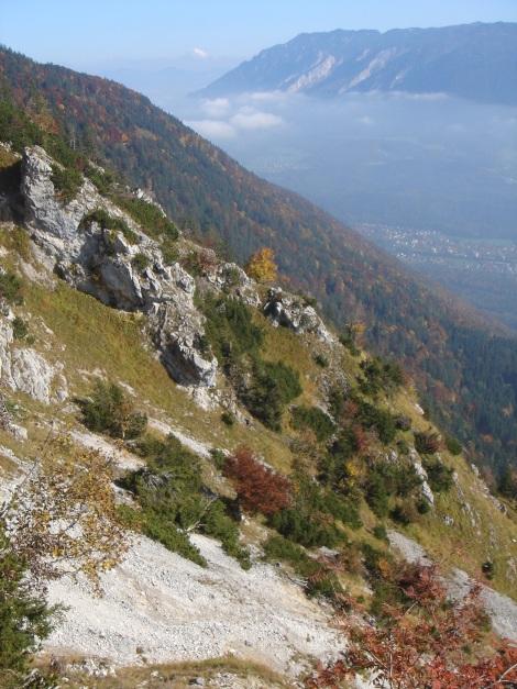 Foto: Manfred Karl / Wander Tour / Goldtropf Steig am Hochstaufen / Im unteren Teil des Steiges / 17.09.2009 21:15:31