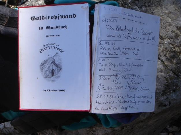 Foto: Manfred Karl / Wander Tour / Goldtropf Steig am Hochstaufen / 17.09.2009 21:14:34