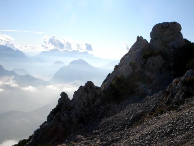 Foto: Manfred Karl / Wander Tour / Goldtropf Steig am Hochstaufen / Beim Ausstieg des Goldtropfsteiges / 17.09.2009 21:09:39