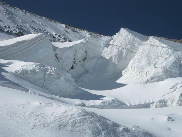 Foto: Wolfgang Lauschensky / Wander Tour / Dom de Neige des Ecrins 4015m / Gletscherimpressionen / 17.09.2009 21:33:10