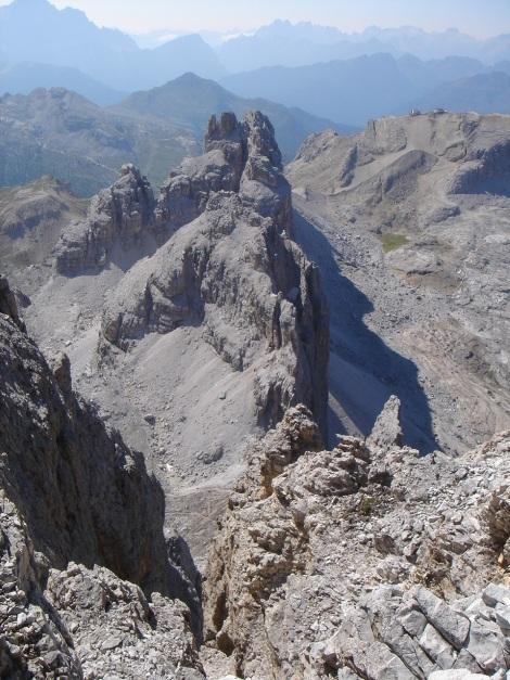 Foto: Manfred Karl / Klettersteig Tour / Tomaselli Klettersteig (Via ferrata Cesco Tomaselli) / Großer und Kleiner Lagazuoi / 17.09.2009 22:16:40