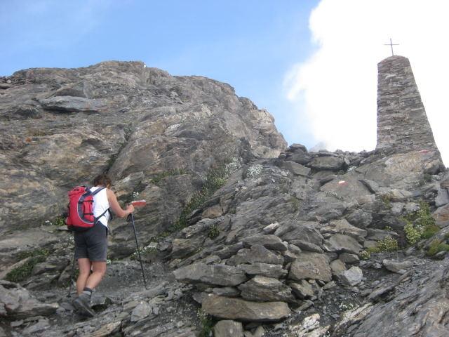 Foto: Wolfgang Lauschensky / Wander Tour / Rocciamelone 3538m / Marterl La Crocetta / 18.09.2009 18:50:43