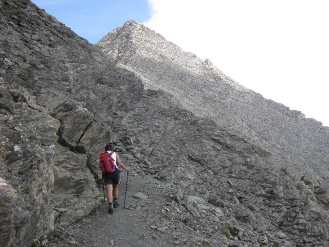Foto: Wolfgang Lauschensky / Wander Tour / Rocciamelone 3538m / östlich des Südgrates zum Gipfel / 18.09.2009 18:50:31