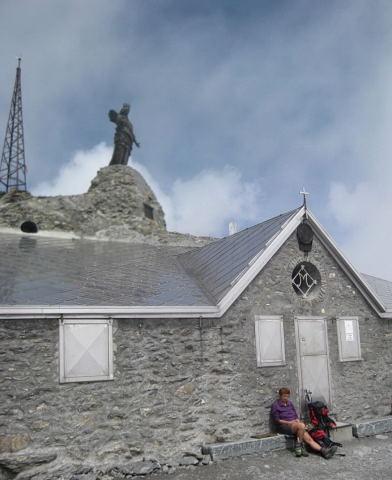 Foto: Wolfgang Lauschensky / Wander Tour / Rocciamelone 3538m / Gipfelkapelle / 18.09.2009 18:49:56