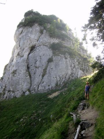 Foto: Wolfgang Lauschensky / Wander Tour / Kleiner Sparber 1488m / Kleiner Sparber aus der Scharte / 05.11.2010 15:16:12